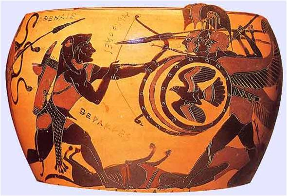 Herakles and Geryon