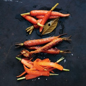 carrots three ways