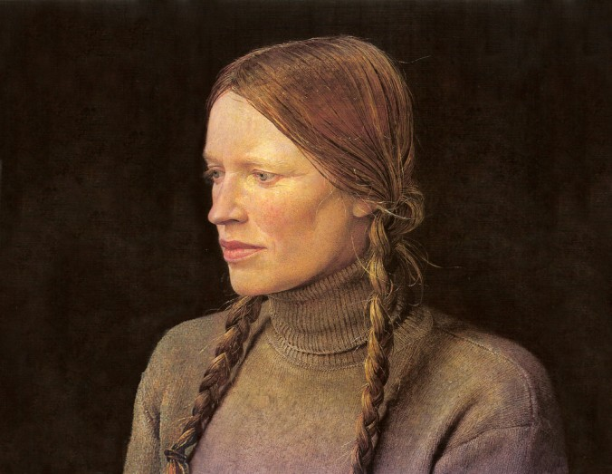 Braids, A Portrait of Helga Testorf (1979)