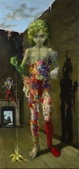 Dorothea Tanning, The Magic Flower Game