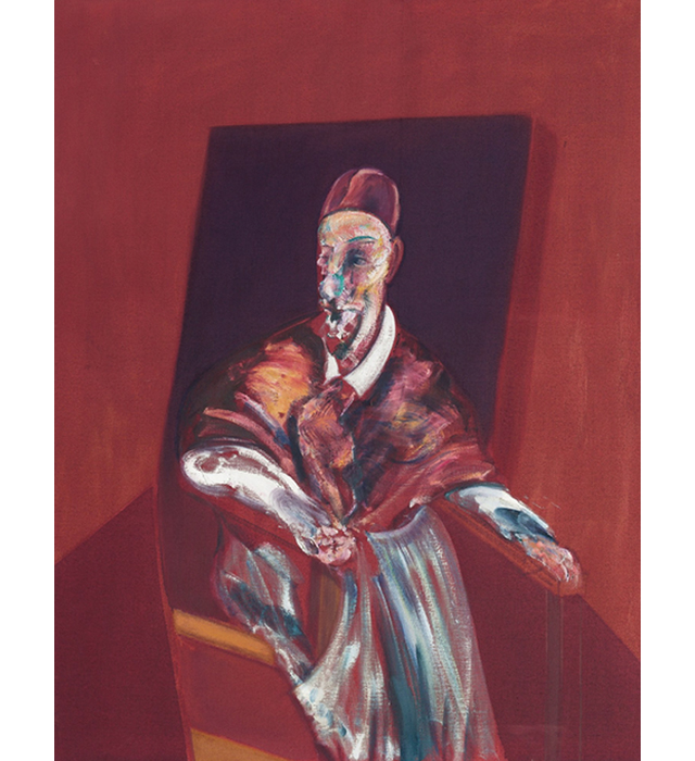 red cardinal - francis bacon