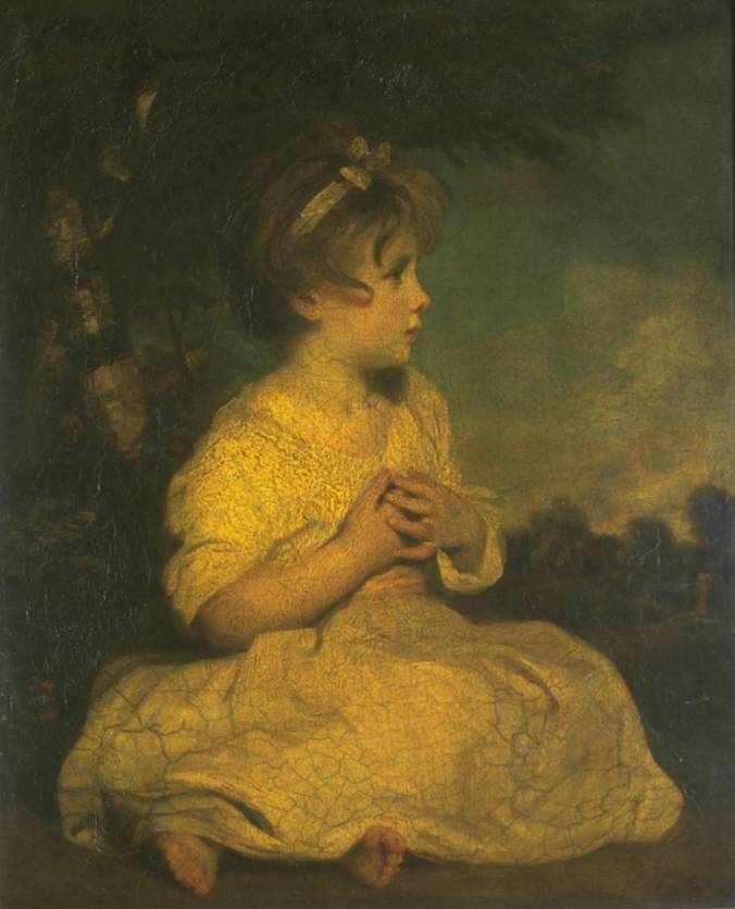 The Age of Innocence ?1788 by Sir Joshua Reynolds 1723-1792